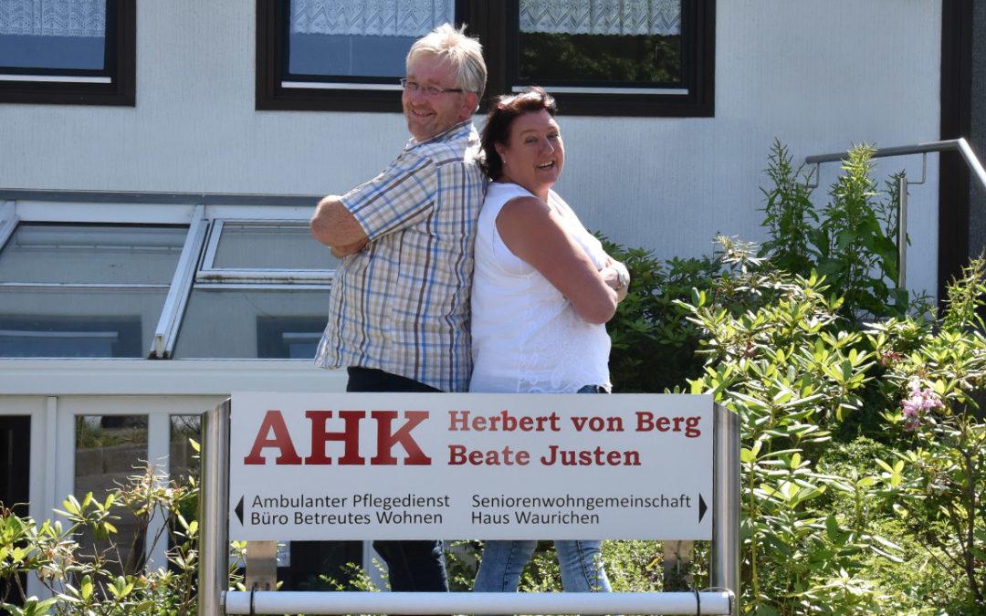 AHK Herbert von Berg geht online!